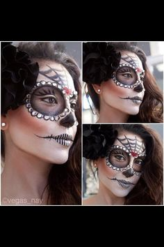 Super cool Halloween makeup