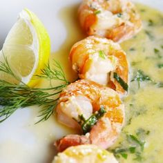 Recipes | Grilled Shrimp with Tarragon Beurre Blanc | Sur La Table