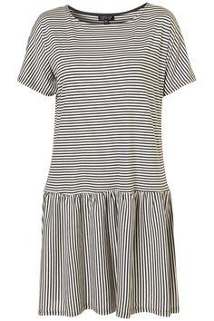 Topshop Stripe Drop Waist Dress ($58)