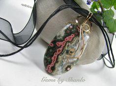 Ocean Jasper Pendant by Shanlo Gems