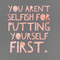 Put yourself first by @quotingfreedom - Daily typography & lettering design love ❤️ - typostrate - typostrate.com