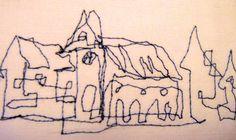 Zeichnen mit der Nähmaschine