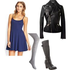 """Black Canary - Casual"" by the-geek-forge on Polyvore"