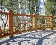 wood branch staircase - Google Search