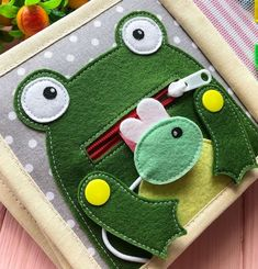 Felt Animal Patterns, Stuffed Animal Patterns, Nursing Home Gifts, Fidget Blankets, Animal Books, Toddler Books, Quiet Books, Felt Animals, Children