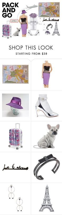 """purple paris"" by murielhatesyou ❤ liked on Polyvore featuring Nina Ricci, Banana Republic, Nicholas Kirkwood, Steve Madden, Judith Leiber, Yves Saint Laurent, French Connection, BillyTheTree, Spring and purple"