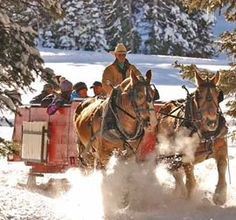 Grand Targhee Resort Sleighride Dinners :: Grand Targhee Resort
