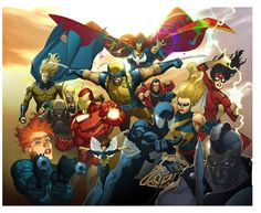 ✭ Avengers by Leinil Franics Yu