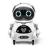 Funnyletric Pocket Robot for Kids, Educational Intelligent Mini Robot Toy, Voice Conversation, Speech Recognition, Dance and Change Voice and Repeat for Boys and Girls Gift (White) Speech Recognition, Smart Robot, Robots For Kids, Cool Gifts For Kids, Toys For Girls, Girl Gifts, Repeat, Conversation, Boy Or Girl