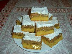 Hozzávalók: 12 dkg vaj vagy 14 dkg margarin  6 tojás  30 dkg cukor  24 dkg liszt  2 csomag vaníliás cukor  1 csomag sütőpor Alma,keksz   ...