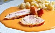 ReceptyOnLine.cz - kuchařka, recepty a inspirace Pork, Meat, Red Peppers, Kale Stir Fry, Pork Chops