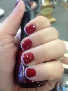 Fancy Phalanges: 31 Day Challenge: Day 1-Red Nails