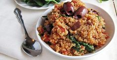 Did you know 2013 is the International Year of Quinoa? There are still a couple months to make this Quinoa Puttanesca from Greatist, which earned a spectacular spoonacular score of 99%!