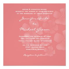 Destination Wedding Invitation #destinationwedding #DIYinvites #wedding #bride #hawaiian #beachwedding #ceremony