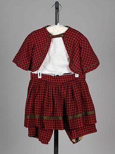 Suit Date: 1860–65 Culture: American Medium: Wool, cotton