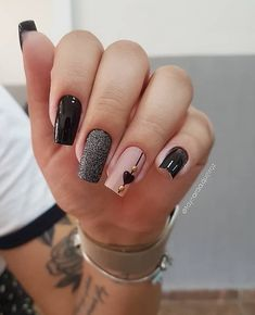 2019 Beautiful Nail Designs for Fall - Uñas esmalte permanente - Unhas Stylish Nails, Trendy Nails, Cute Nails, Oval Nails, Pink Nails, Gel Uv, Nail Designer, Best Acrylic Nails, Nagel Gel