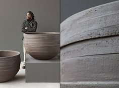 Contemporary Pots by Atelier Vierkant