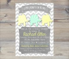 baby shower ideas elephant peanut | visit etsy com