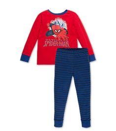Garçon Pyjama manches longues Spiderman en rouge –  prix bas sur l´e-shop C&A !