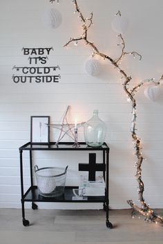 Black and white industrial Christmas @ quip&Co
