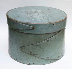 Gorgeous Blue Pantry Box