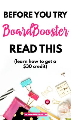 Don't sign up for BoardBooster until you check this out! An ebook, training videos, and a $30 BoardBooster credit for less than the credit alone! Don't miss this! | Pinterest | Pinterest Scheduler | Pinterest Tips | Blog Traffic |