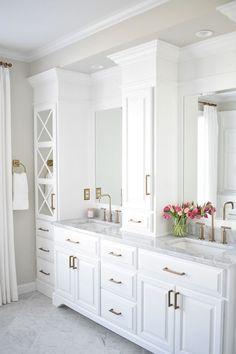Serene Master Bedroom and Master Bathroom Design