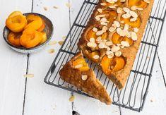 Meruňkový koláč s ovesnými vločkami
