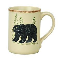 Park Designs Rustic Retreat Mug  Bear * Check out this great product.
