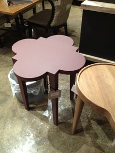 Spring High Point 2012-Another great quatrefoil table from Noir
