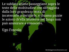 Cartolina con aforisma di Ugo Foscolo (14)