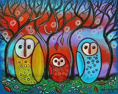 The Owl Family ~ Juli Cady Ryan