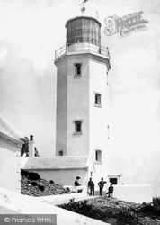 Godrevy Island, The Lighthouse 1890