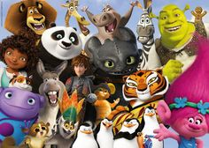 DreamWorks Familie | Puzzle |