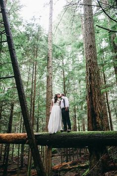 Wild and Organic Mountain Elopement Shoot / photography by Jess Hunter / washington state elopement / pacific northwest wedding / forest wedding / intimate mountain wedding / alaska wedding photographer
