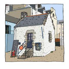 Illustrateur Christophe Rouillat de Quimper  Finistère Bretagne