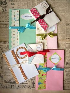 WhiMSy love: Accordion Envelope Book Tutorial