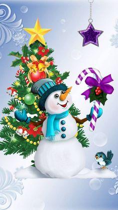Good Afternoon sister,enjoy your time,xxx❤❤❤💌⛄❄🎄 Snowman Wallpaper, Merry Christmas Wallpaper, Merry Christmas Pictures, Holiday Wallpaper, Christmas Greetings, Purple Christmas, Beautiful Christmas, Vintage Christmas, Xmas