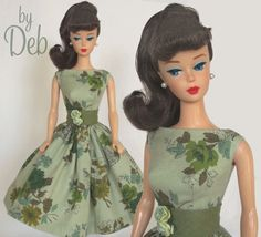 Enchanting - Vintage Reproduction Repro Barbie Doll Dress Clothes Fashions