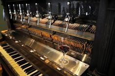 Piccola Cellars- Such a cool place to book a tasting- all of their wines are on tap!