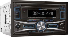A double-DIN workhorse.Soundstreams affordable VCD-32B CD receiver provides large accessible controls on its oversized face, so you can find the button you want quickly.