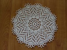 Ravelry: Doily #8 pattern by Les Editions de Saxe