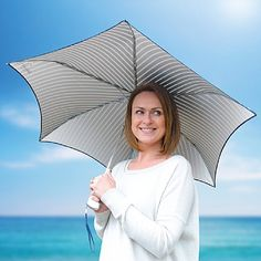 Check out our latest range of brand new gifts, cool gadgets & awesome accessories regularly updated from Qwerkity. Mens Umbrella, Black Umbrella, New Gadgets For Men, Black Cover, Gadget Gifts, Weather Conditions, Summer Collection, Britain, Best Gifts