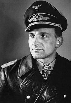 Hans-Ulrich Rudel -Awarded the Knight's Cross of the Iron Cross with Golden Oak Leaves, Swords and Diamonds. Only one ever given out) Rudel was the most decorated German serviceman of World War II.