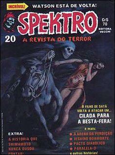 Spektro # 20 A Besta, Halloween Pin Up, Comic Books, Comics, Movie Posters, Journals, Film Poster, Cartoons, Cartoons