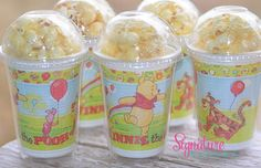 Winnie the Pooh Birthday Party CupsPopcorn by SignatureAvenue, $15.40