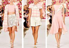 oscar dMe la renta at new york fashion week spring