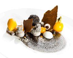 Mangue José, coco et sésame noir par Chef Francois Daubinet