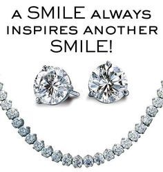 A smile always inspires another smile!  #Diamonds