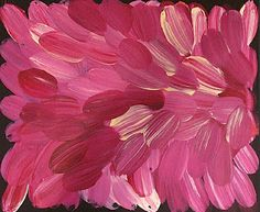 fuschia - I love your work Gloria Petyarre and hope to own a piece one day
